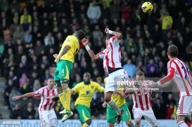 Norwich City's Bradley Johnson scores their first goal of the game