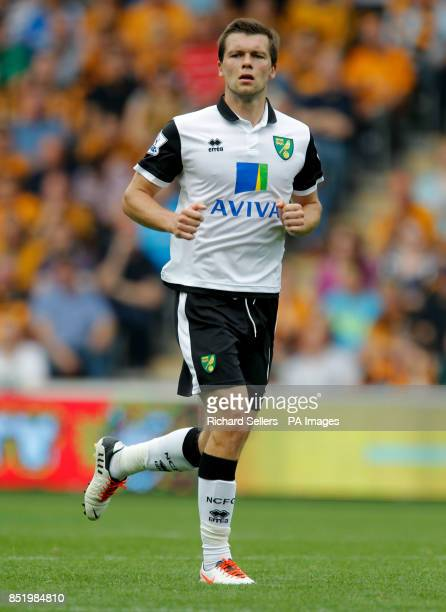 Norwich City's Jonny Howson during the Barclays Premier League match at the KC Stadium Hull