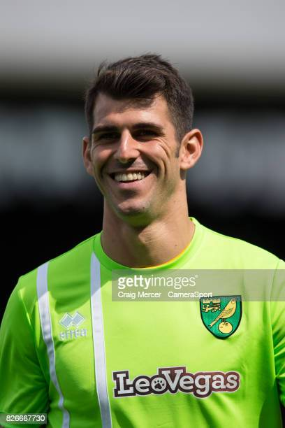 Norwich City's Nelson Oliveira during the Sky Bet Championship match between Fulham and Norwich City at Craven Cottage on August 5 2017 in London...