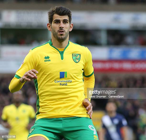 Norwich City's Nelson Oliveira in action during todays match during the Sky Bet Championship match between Norwich City and Preston North End at...