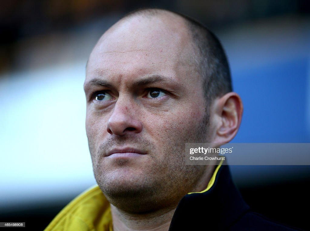 Norwich manager Alex Neil during the Sky Bet Championship match between Millwall and Norwich City at The Den on March 07, 2015 in London, England.