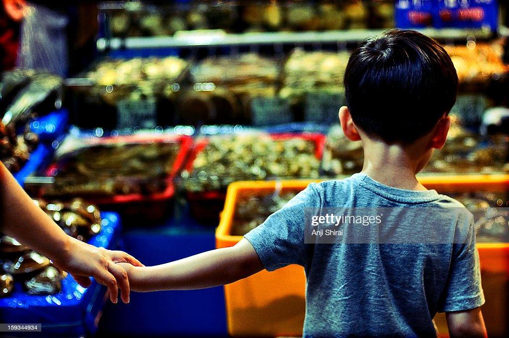 Noryangjin Fish Market : Stock Photo