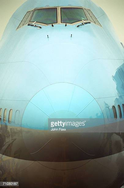 Nose cone of airplane