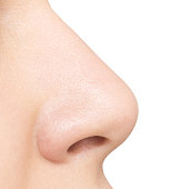 nose isolated on white background