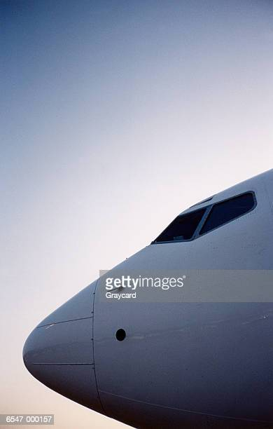 Nose of Airplane