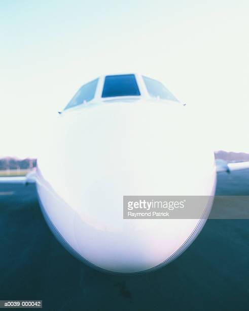 Nose of Learjet