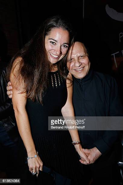Nose of the Perfume Marie Salamagne and Azzedine Alaia attend Azzedine Alaia presents his new Perfume 'Alaia Eau de Parfum Blanche' Held at Azzedine...