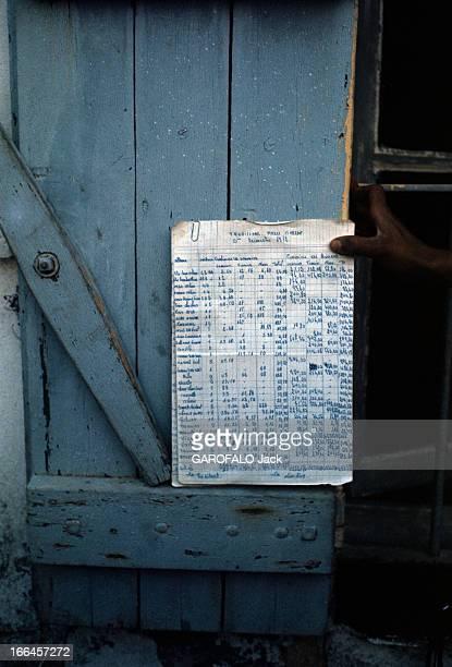 Nostalgia Of Algeria Dietrie en juillet 1972 Près de SidibelAbbès au domaine PERRIN rebaptisé domaine SI KHALLADI tenue contre un volet une feuille...