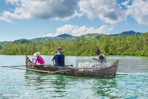 Nosy Be island, north of Madagascar : Stock Photo