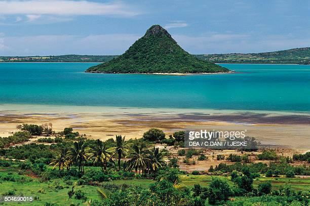 Nosy Lonia small island in the Antsiranana Bay Madagascar