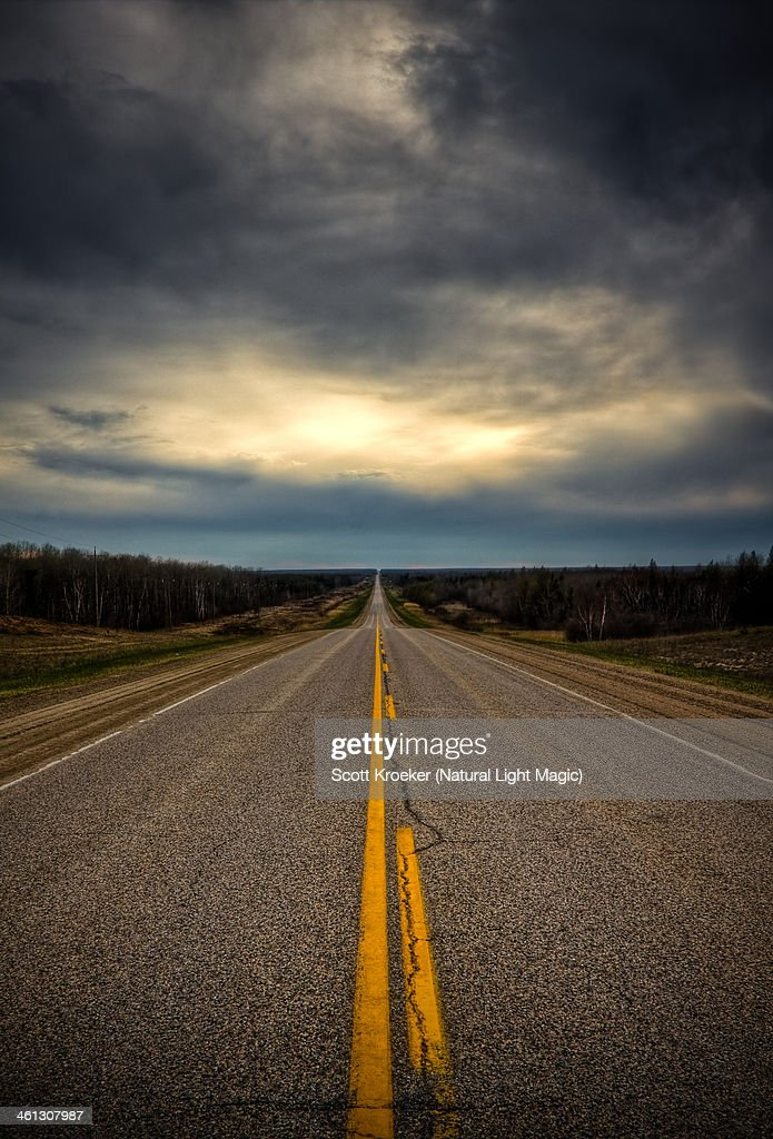 Not a car in sight : Stock Photo