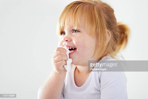 Not even a runny nose can dampen the giggles!