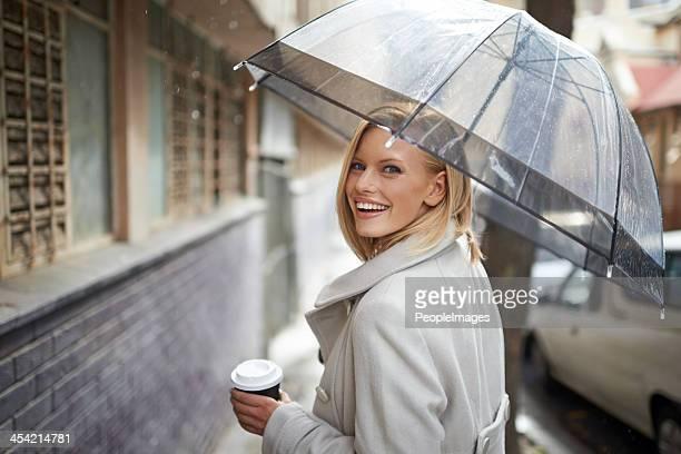 Nemmeno la pioggia può trovare in basso!