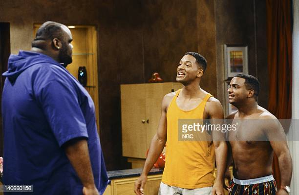 AIR 'Not I Barbecue' Episode 6 Pictured Jaime Cardriche as Mad Dog Will Smith as William 'Will' Smith Alfonso Ribeiro as Carlton Banks Photo by Kassa...