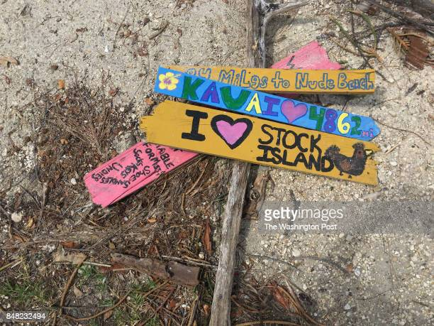 not related to story Slide show selects for Signs of Life after Hurricane Irma on Stock Island in the Florida Keys A sign from someone's mobile home...