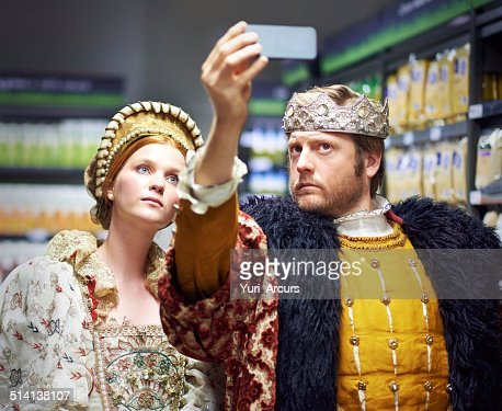 #Not too royal to shop!