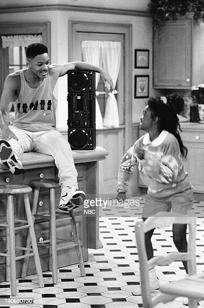 AIR 'Not With My Pig You Don't' Episode 4 Pictured Will Smith as William 'Will' Smith Tatyana Ali as Ashley Banks Photo by Ron Tom/NBCU Photo Bank
