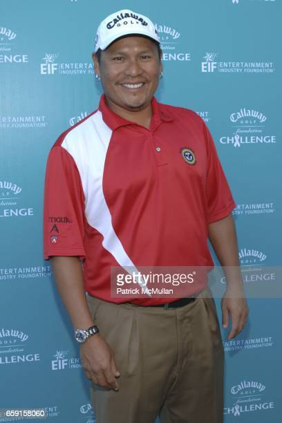 Notah Begay III attends Callaway Golf Foundation Challenge Benefitting Entertainment Industry Foundation Cancer Research Programs at Riviera Country...