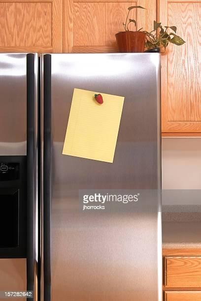Hinweis auf Kühlschrank liefern