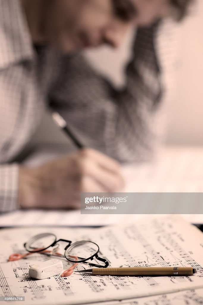 Note writing : Stock Photo