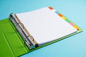 Notebook Paper in Binder