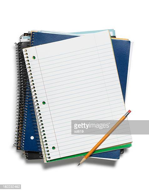 Notebooks with Pencil
