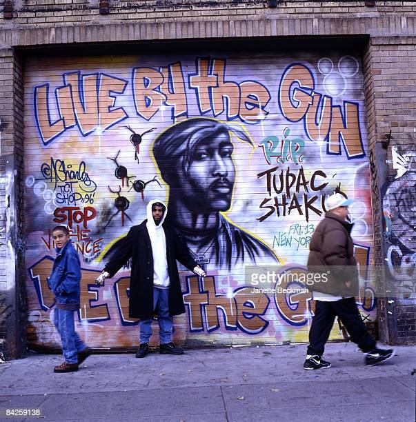 Tag 3 photos et images de collection getty images for Baby boy tupac mural