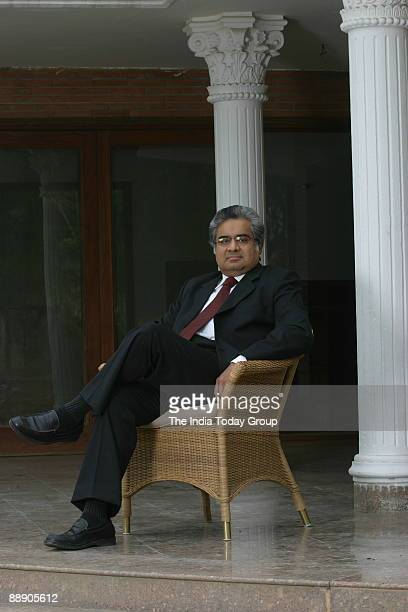 Noted Supreme Court lawyer Harish Salve at his residence in New Delhi