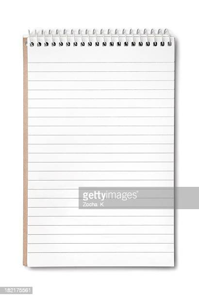 Notepad (CLIPPING PATH included)