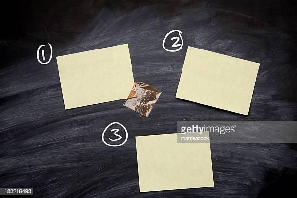 Notes on a Blackboard