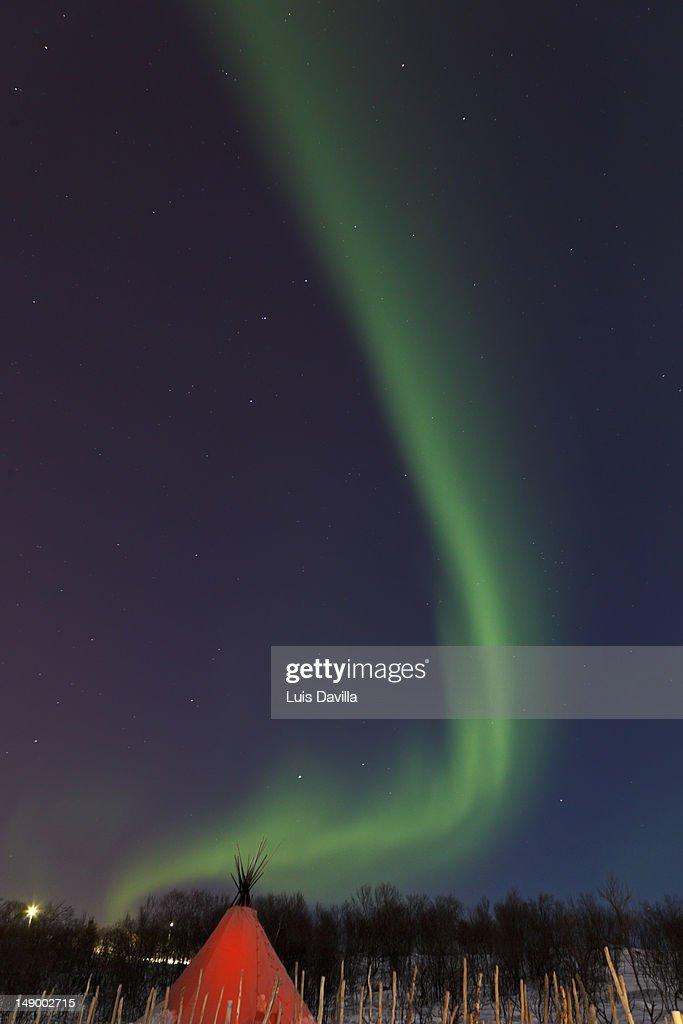 nothern light : Stock Photo