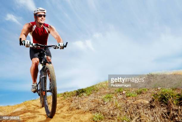 Nothing beats cycling in the great outdoors