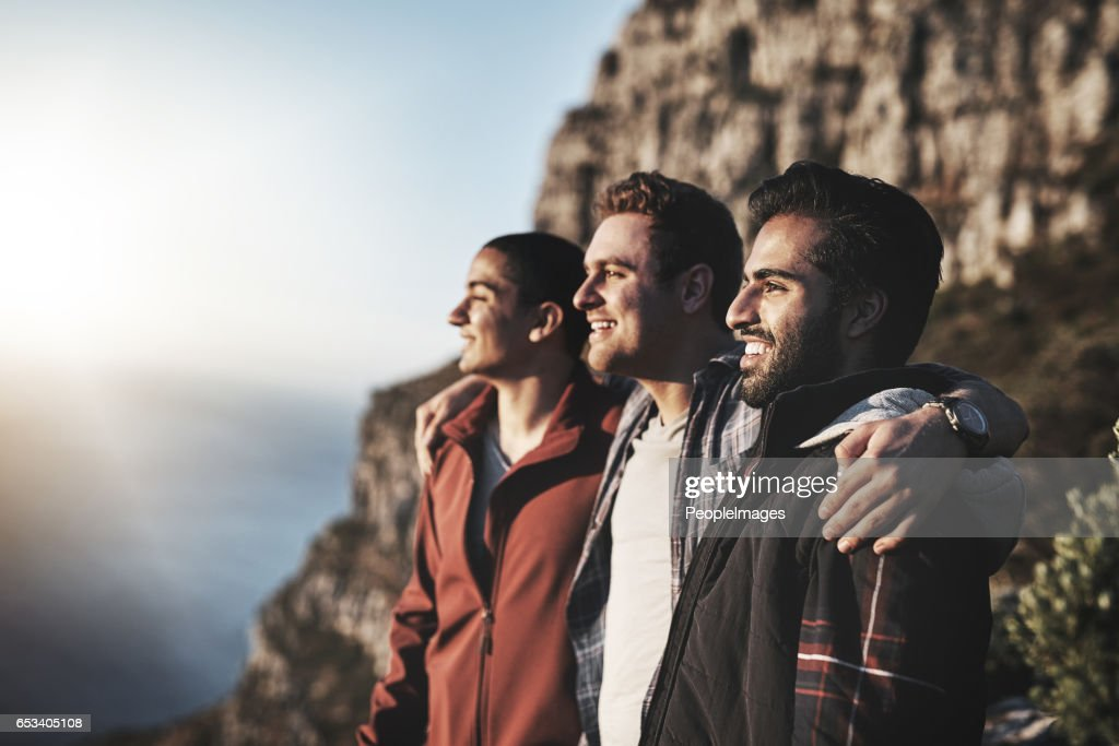 Nothing beats the view from the top : Stock Photo