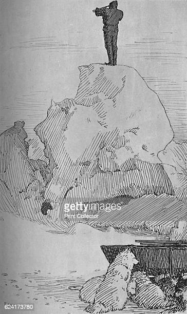 Nothing But Ice Ice to the Horizon 7 April 1895' From Farthest North Vol 2 by Fridtjof Nansen [Archibald Constable and Company London 1897] Artist...