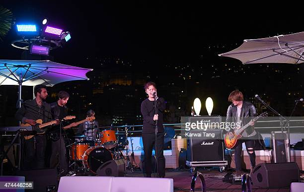 Nothing But Thieves perform at the Infiniti Red Bull Racing Energy Station at Monte Carlo on May 21 2015 in Monaco Monaco