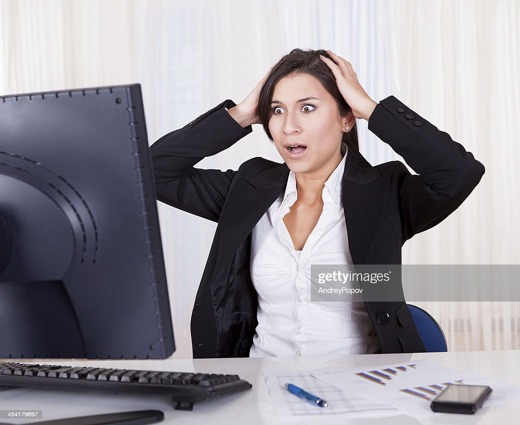 Nothing is going right : Stock Photo
