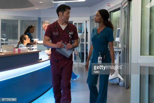 MED 'Nothing to Fear' Episode 302 Pictured Brian Tee as Ethan Choi Yaya DaCosta as April Sexton