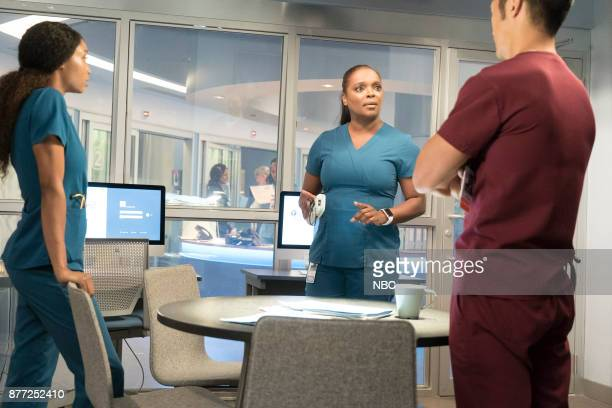 MED 'Nothing to Fear' Episode 302 Pictured Yaya DaCosta as April Sexton Marlyne Barrett as Maggie Lockwood Brian Tee as Ethan Choi