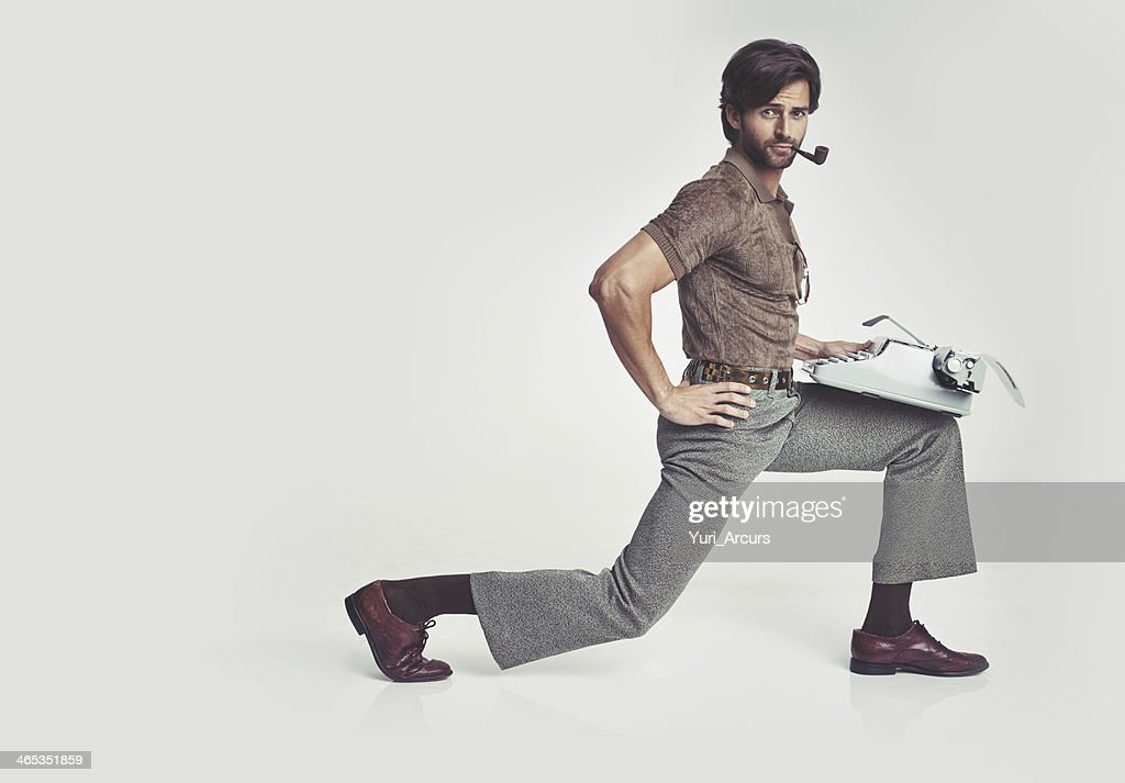 Nothing's too tough for me... : Stock Photo