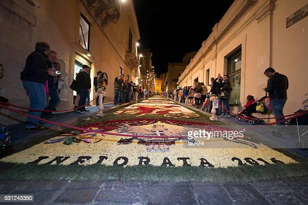 Noto, in Sicilia : Infiorata 2016