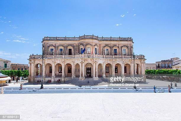 Noto town hall, Palazzo Ducezio