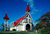 Notre Dame Auxiliatrice Church Cap Malheureux Mauritius