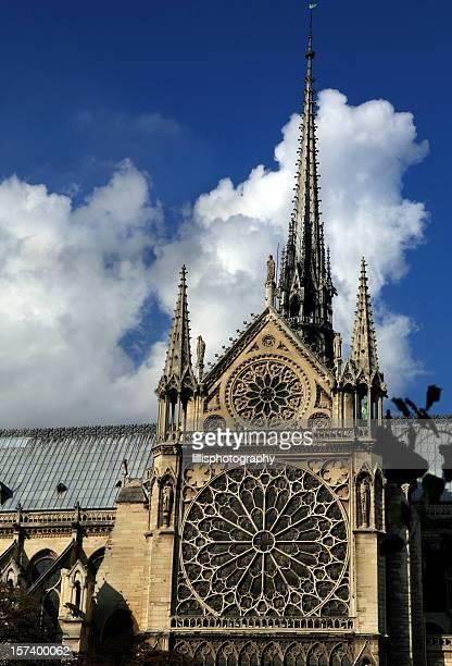 Cathédrale Notre-Dame à Paris, en France