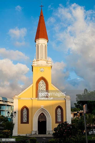 Notre Dame Cathedral. Papeete, Tahiti.
