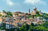 View of Notre Dame d'Afrique, a Roman Catholic basilica in Algiers, the capital of Algeria