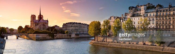 Notre Dame de Paris and Ile Saint Louis