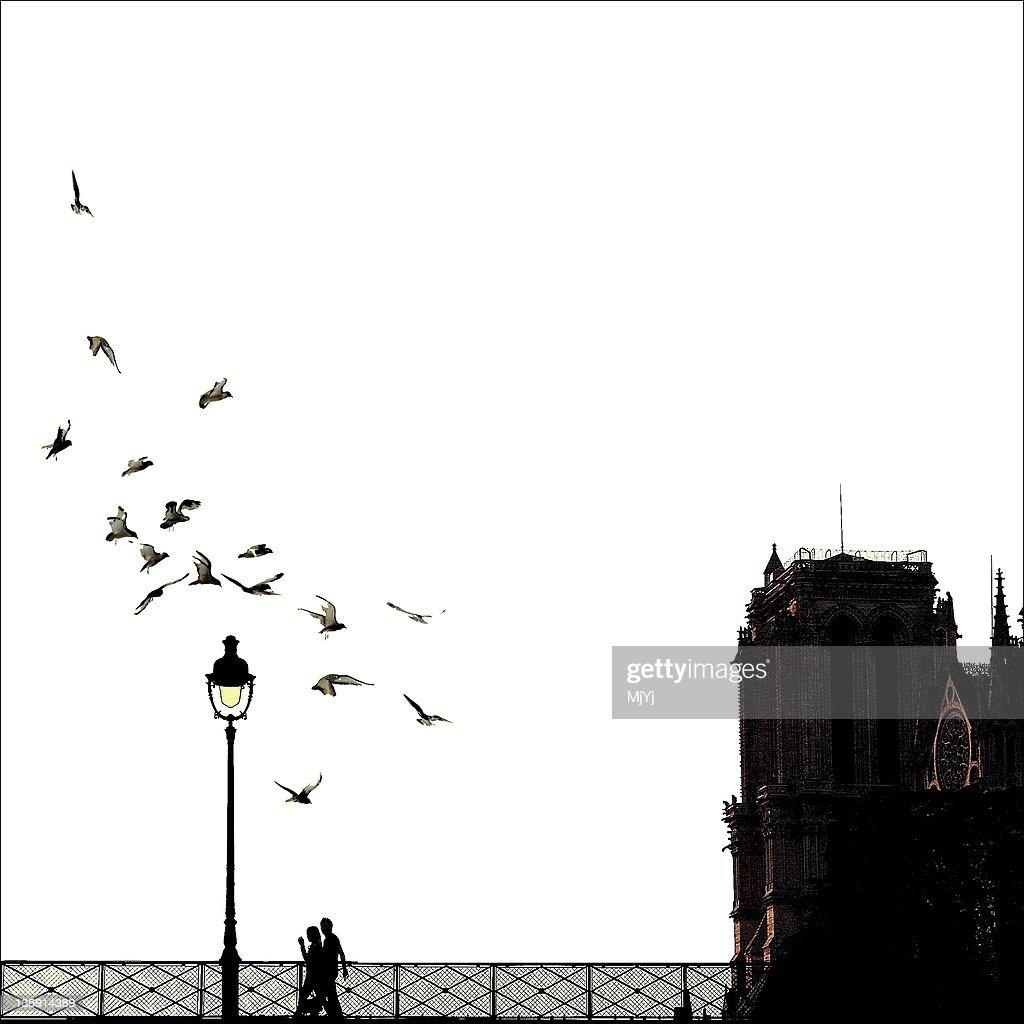 Notre Dame de Paris ~ MjYj : Stock Photo
