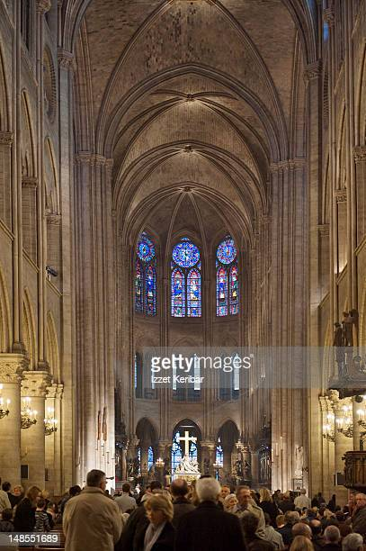 Notre Dame interior.