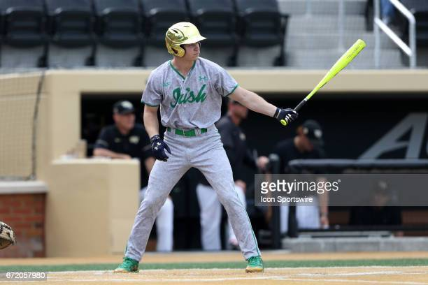 Notre Dame's Kyle Fiala The Wake Forest Demon Deacons hosted the University of Notre Dame Fighting Irish on April 15 at David F Couch Ballpark in...