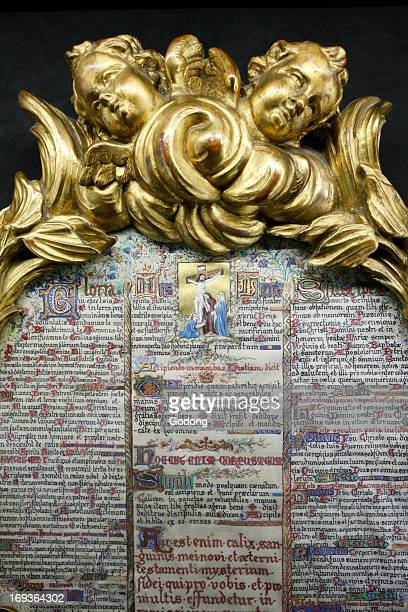 NotreDame de Paris cathedral Treasure Museum Altar book